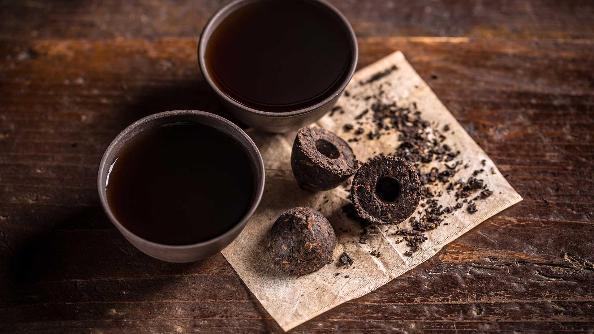 puerh čaj