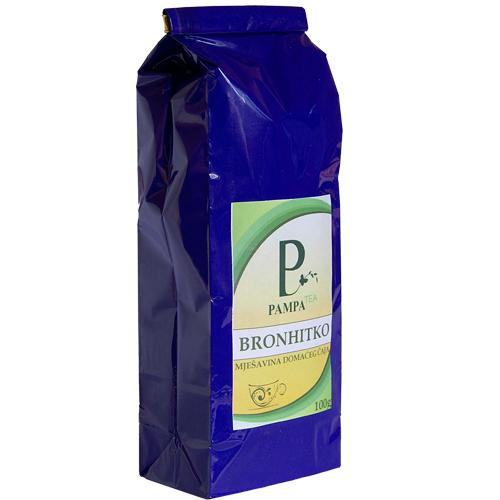 Bronhitko biljni čaj za ublažavanje kašlja, bronhitisa i astme. Mješavina domaćeg čaja namjenen djeci i svim uzrastima. Uskusan čaj