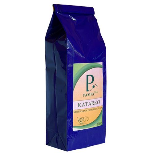 Katarko biljni čaj ublažava tegobe uzrokovane gastritisom, želučanom kiselinom, čirevima na želucu
