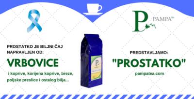 Prostatko i vrbovica Vaši najbolji čajevi za prostatu.