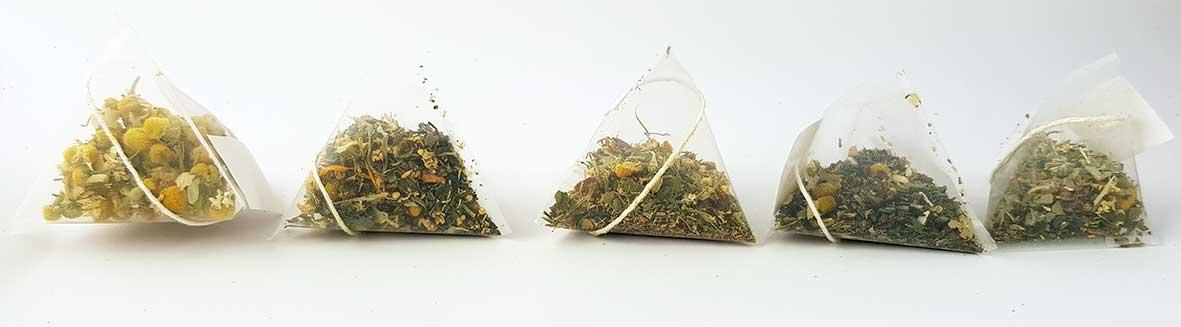čajevi u piramidama